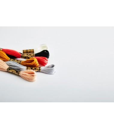 117 Нитки мулине DMC, цвета 3000-3354