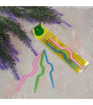 Набор вспомогательных спиц для вязания кос