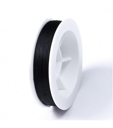 Нить для бисера Титан 100 (черная) 100м