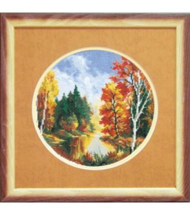"""Набор для вышивки крестиком Чарівна Мить """"Осень"""""""