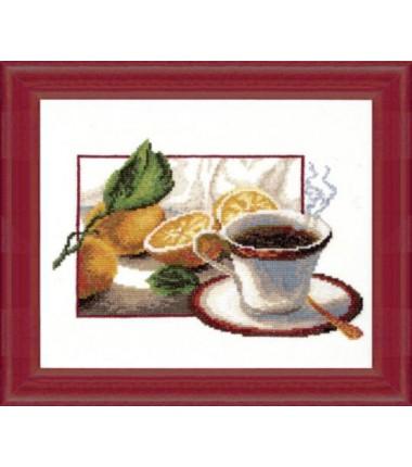 """Набор для вышивки крестиком """"Чашка кофе"""""""