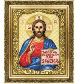"""Набор для вышивки крестиком """"Икона Господа Иисуса Христа"""""""