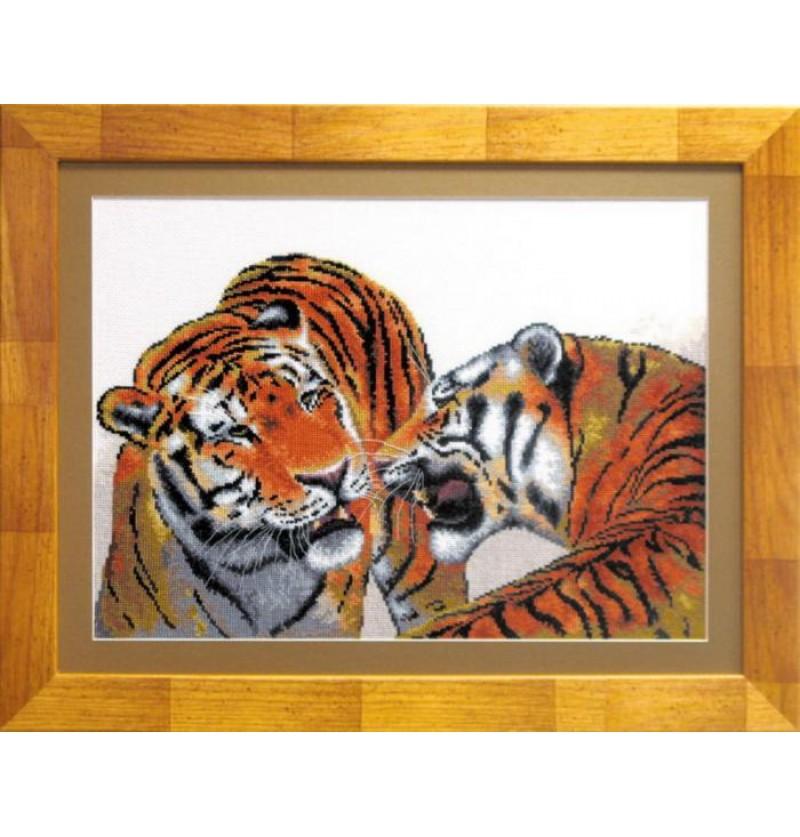 Набор для вышивки крестиком Тигры