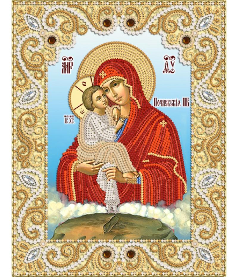 РИК-4015 Почаевская икона Божией Матери